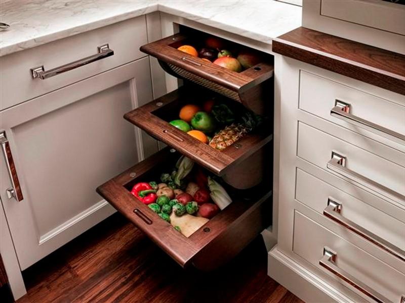 системы хранения для кухни фото
