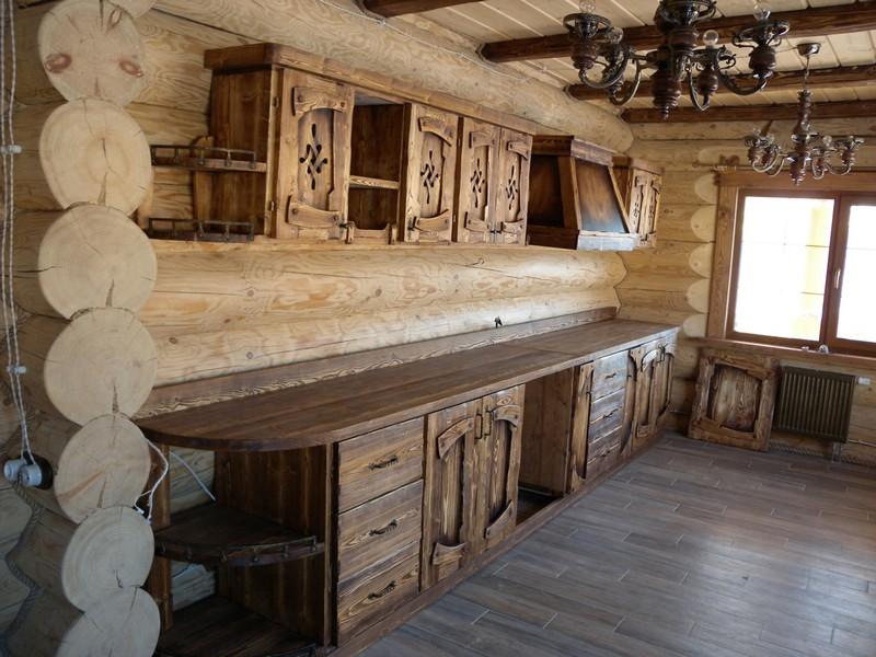 кухня под старину фото