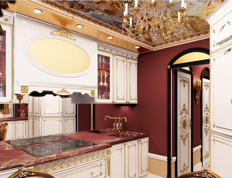 кухня в стиле барокко фото