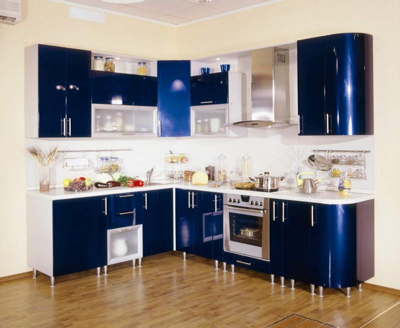 глянцевые современные кухни фото