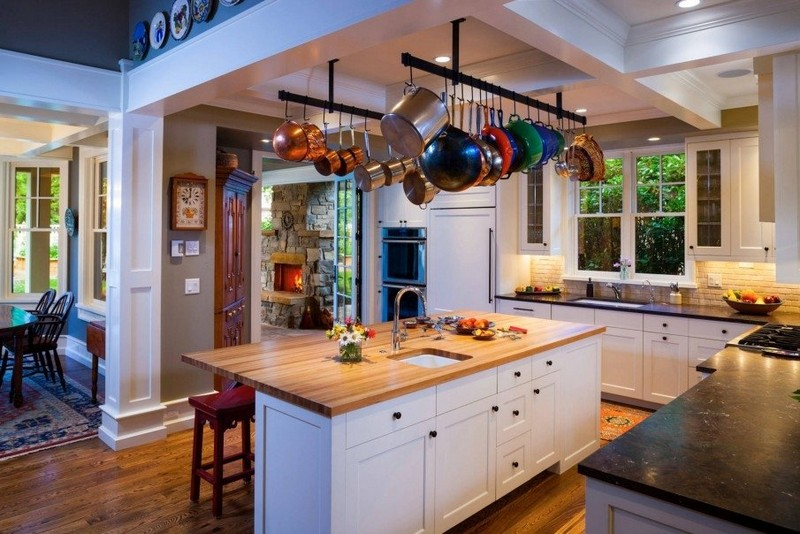 кухня в американском стиле фото
