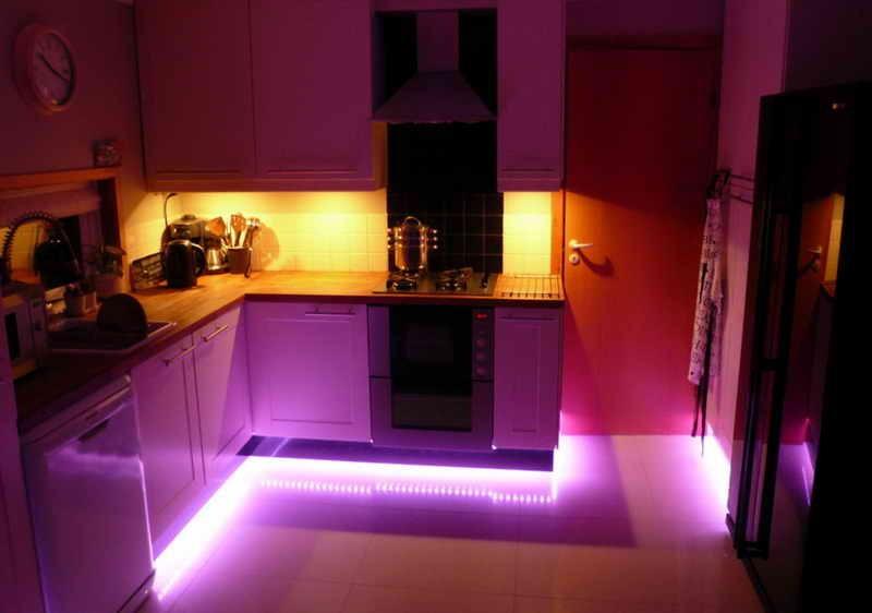 как выбрать светодиодное освещение для кухни