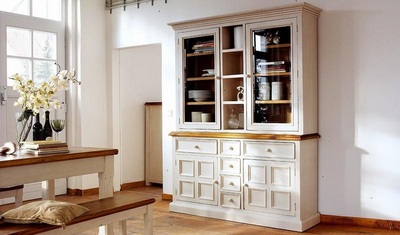 кухонный шкаф сервант фото
