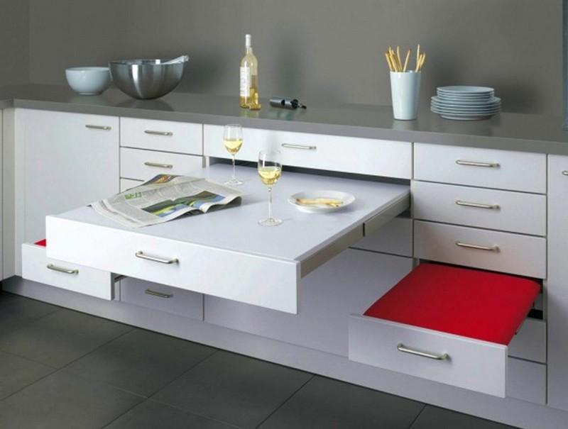 шкаф стол для кухни фото