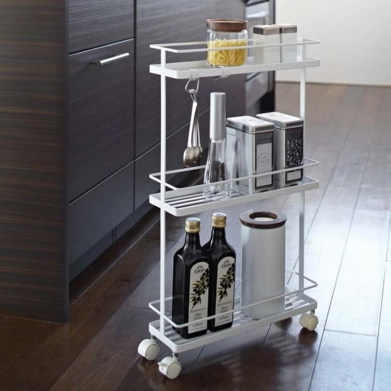 мобильная полка для кухни фото