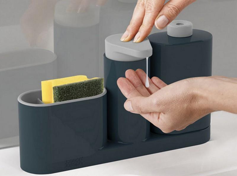 органайзер для моющих средств для кухни фото